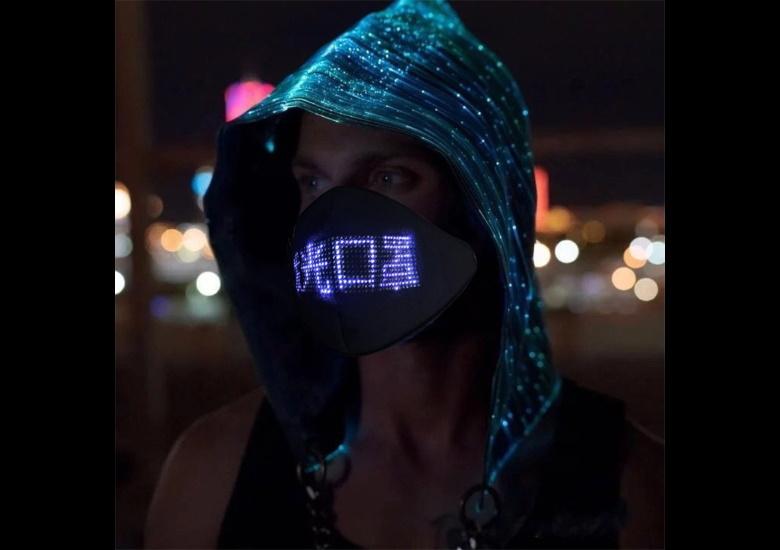 電光掲示マスク