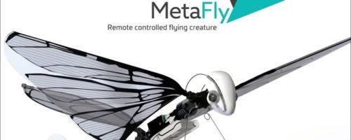 羽ばたく鳥型ラジコン「MetaFly」がクラウドファンディング中、人類のロマンはここにあり!