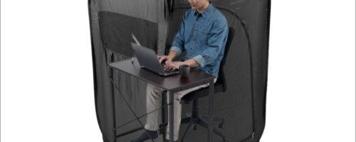サンワサプライ プライバシーテント 200-TENT001-T - オン/オフの切り替えに!もちろん「秘密基地」としても有能な個室テント