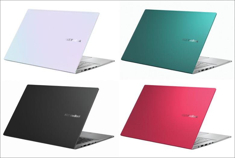 ASUS VivoBook S15 M533IA カラバリ