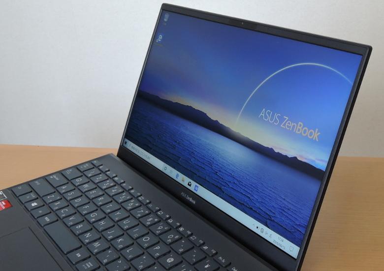 ASUS ZenBook 14 UM425I ディスプレイ