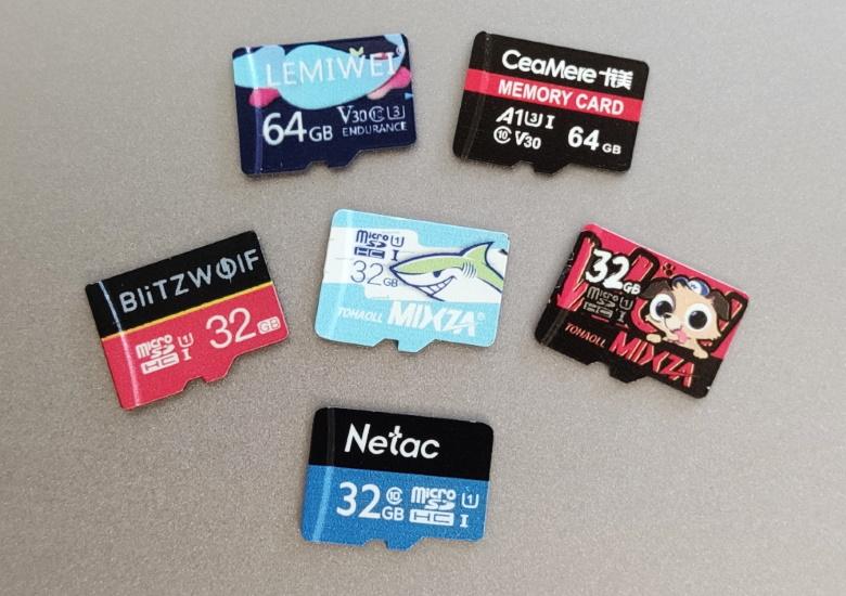 中華通販のmicroSDカード