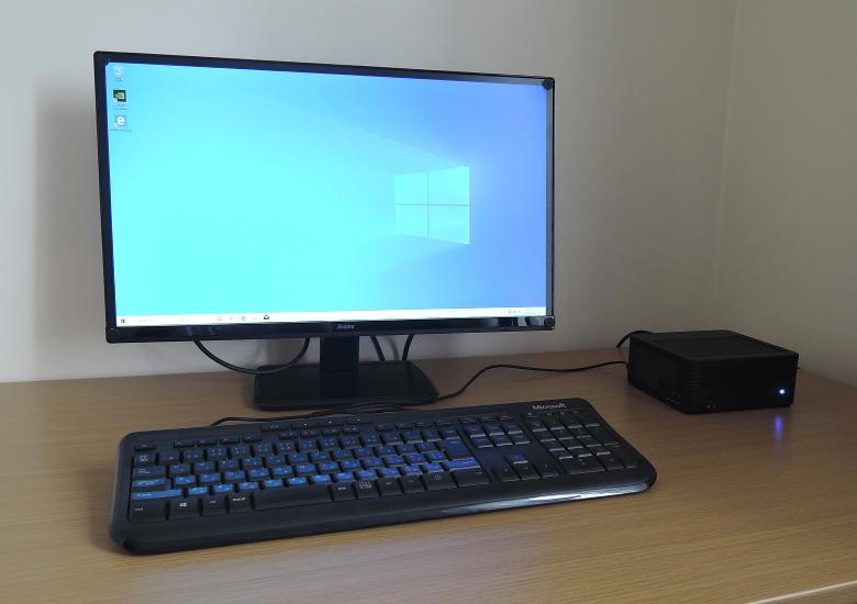MINISFORUM DeskMini H31G 設置例