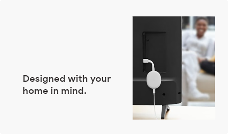 Chromecastのモニター取り付け