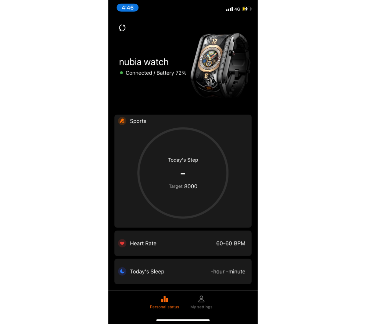 Nubia Watch UI