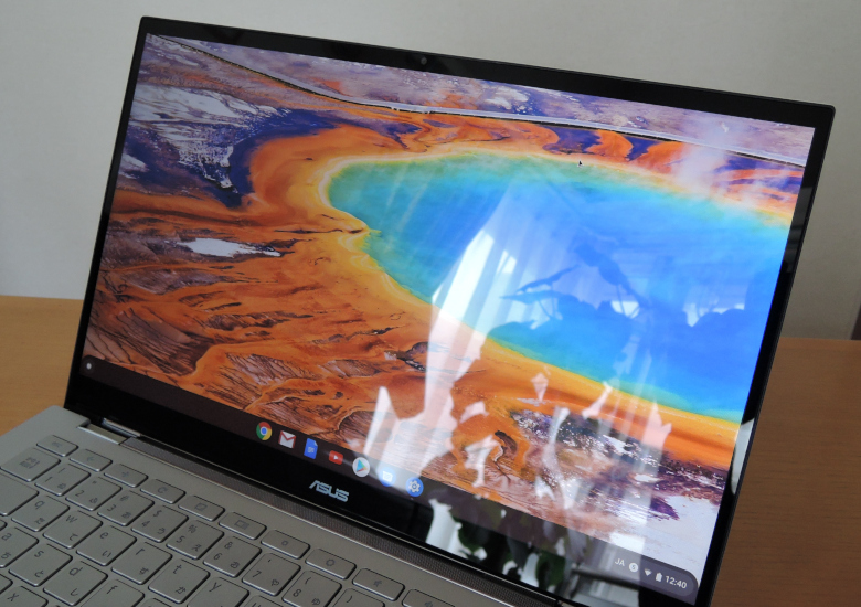 ASUS Chromebook Flip C436FA 液晶画面