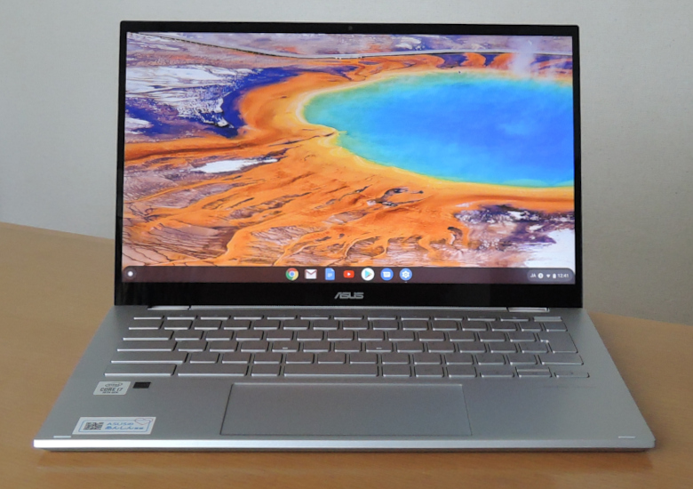 ASUS Chromebook Flip C436FA 正面