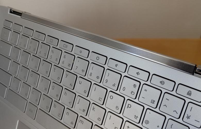 ASUS Chromebook Flip C436FA サウンドバー