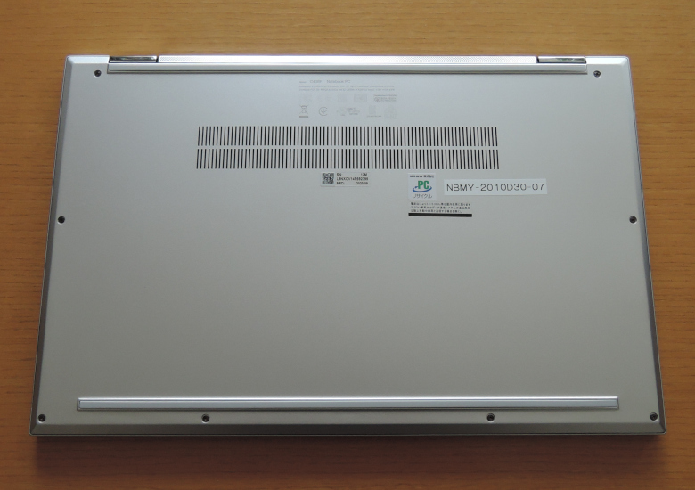 ASUS Chromebook Flip C436FA 底面