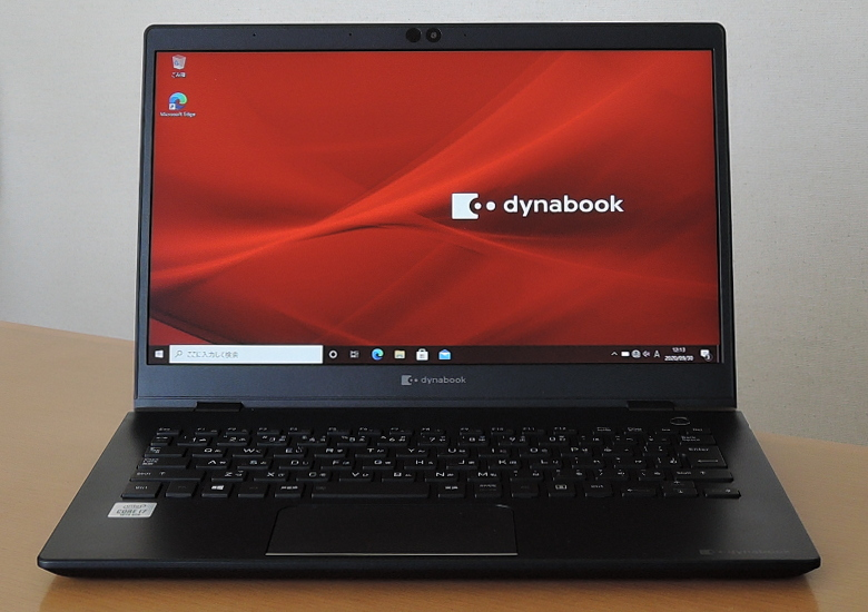 dynabook GZ83 正面