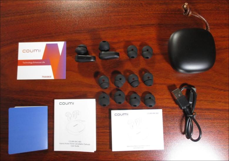 coumi ANC-860 付属品