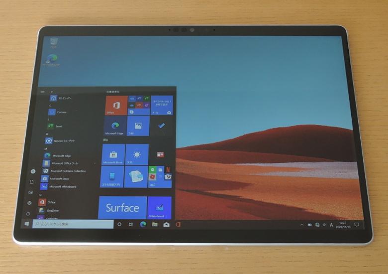 Microsoft Surface Pro X 前面