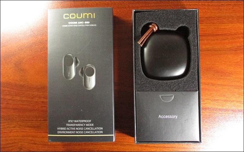 進化版COUMI ANC-860の可愛いパッケージ