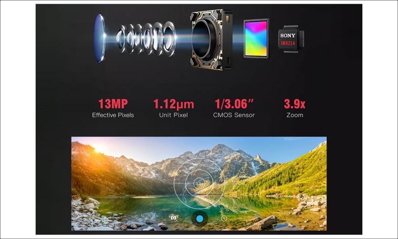 KOSPET PRIME 2 カメラセンサーはSONY製