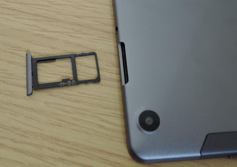 CHUWI HiPad X SIMスロット
