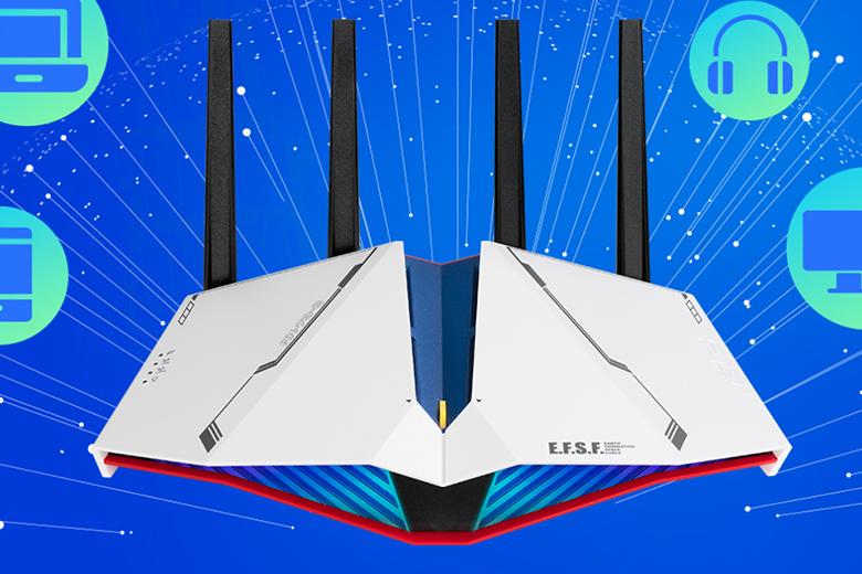 Wi-Fiルーターガンダムエディション