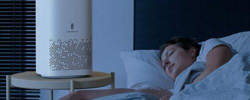 TaoTronics TT-AP006 - 10畳まで対応、小型で静音の空気清浄機。花粉対策におすすめ