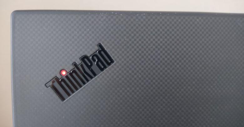 ThinkPad P1 Gen3 ロゴ