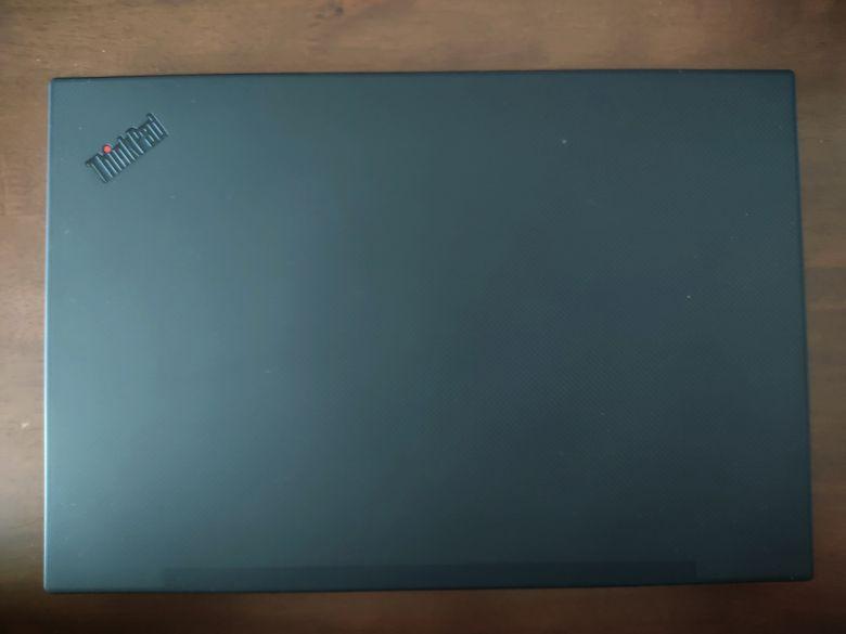 ThinkPad P1 Gen3 天板