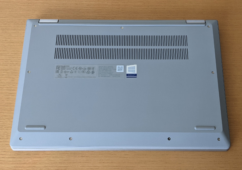Lenovo IdeaPad Flex 550(14) 底面