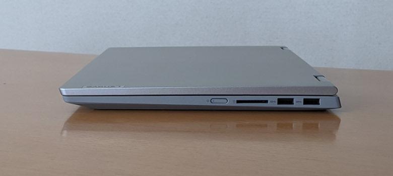 Lenovo IdeaPad Flex 550(14) 右側面