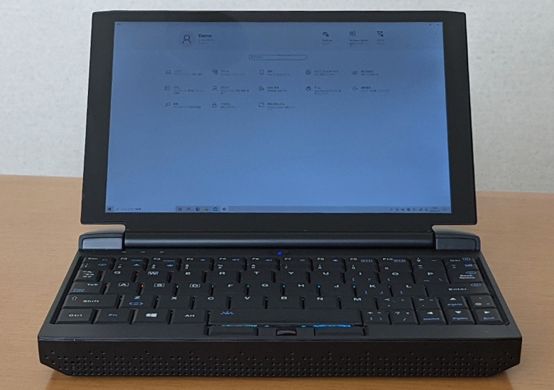 ONE-NETBOOK OneGx1 Pro 正面