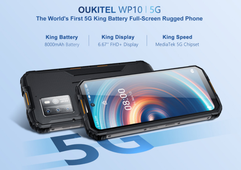 OUKITEL WP10 Pro 5G