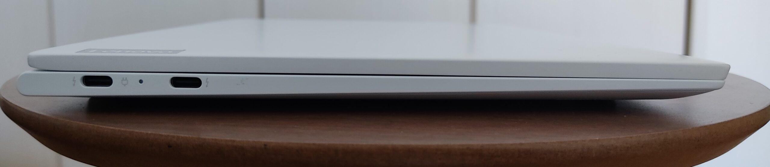 Lenovo Yoga Slim 750i Carbon 左側面
