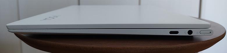 Lenovo Yoga Slim 750i Carbon 右側面