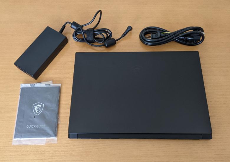 MSI GS66 Stealth 10U 同梱物
