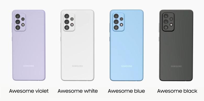 Galaxy A52 Color