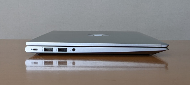 HP ProBook 635 Aero G7 左側面