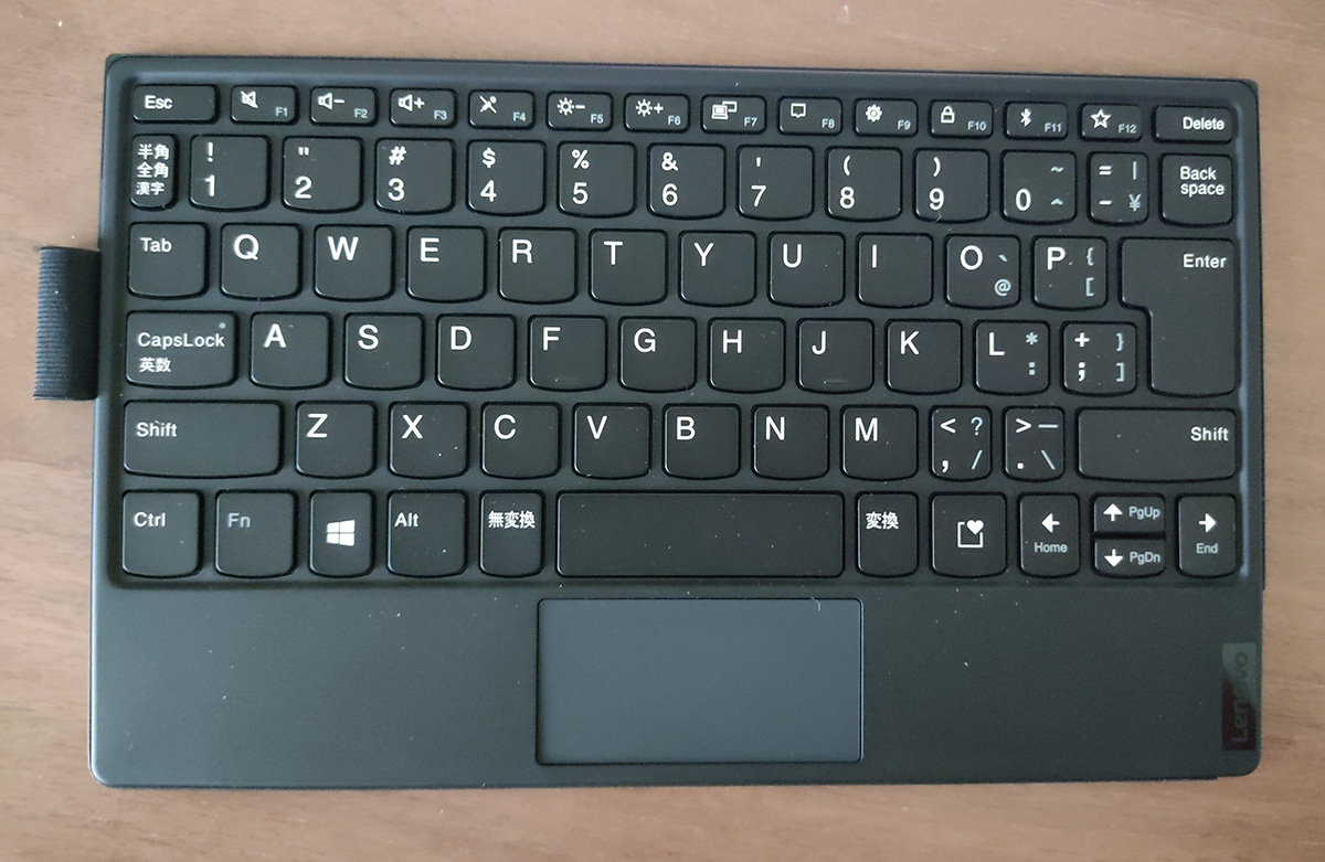 Levovo ThinkPad X1 Fold キーボード表