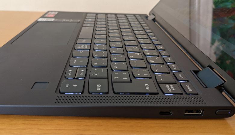 Lenovo Yoga 650 キーボード