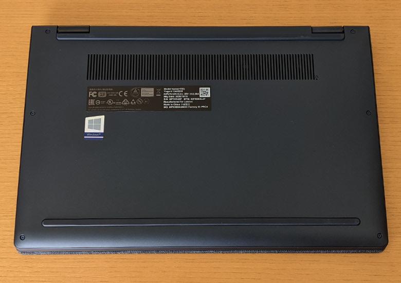Lenovo Yoga 650 底面