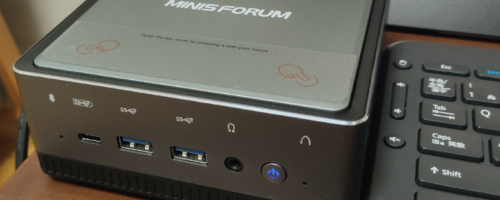 Minisforum U820の実機レビュー(その2・性能編) - もはやオフィスワークはこれで十分?!Core i5搭載ミニPCの実力をチェック!
