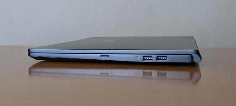 MSI Modern 15 A10RBS 右側面