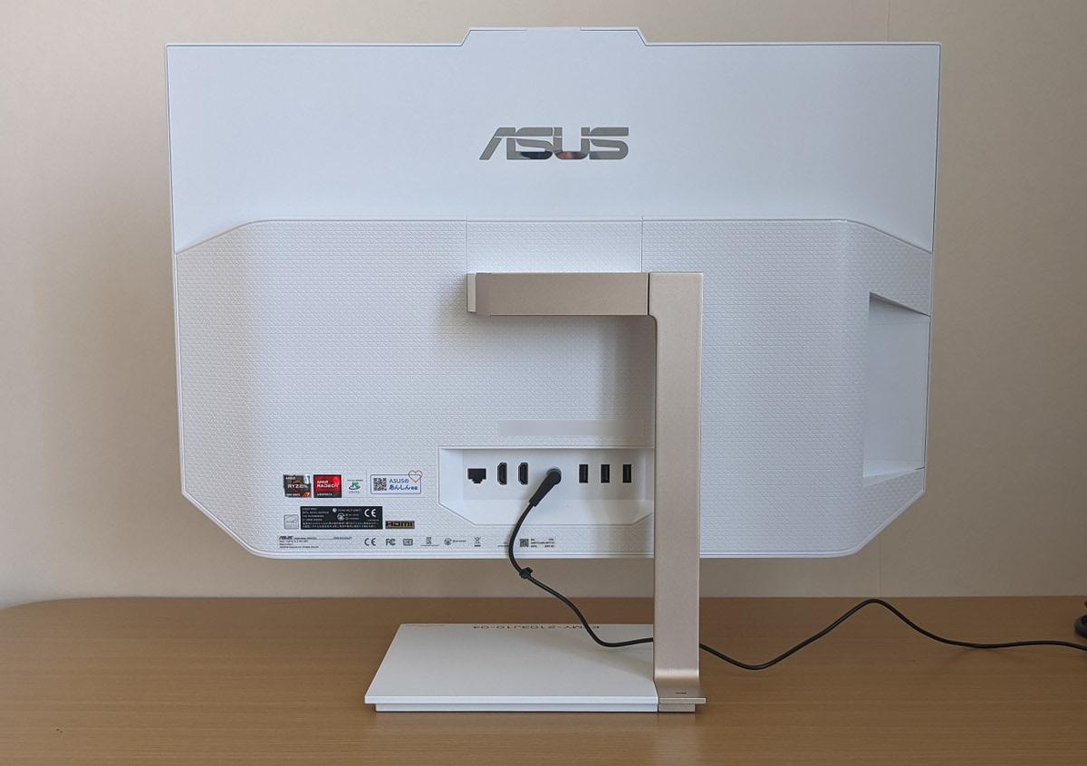 ASUS Zen AiO 24 A5401W 背面