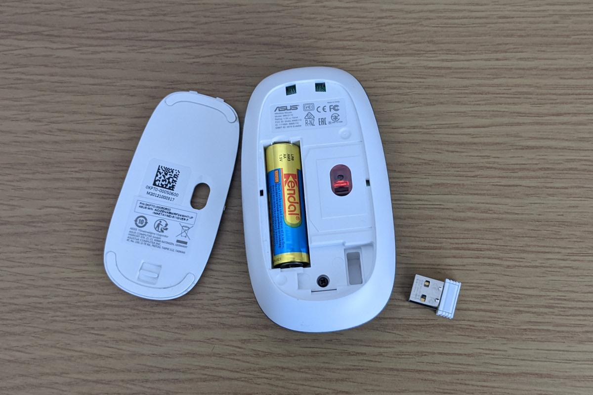 ASUS Zen AiO 24 A5401W マウス