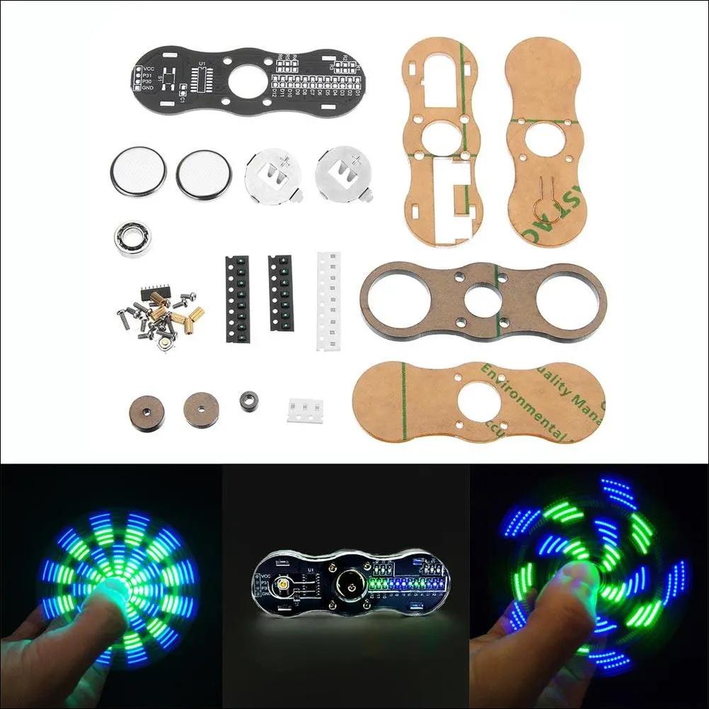 DIY LED Hand Spinner Electronic Kit