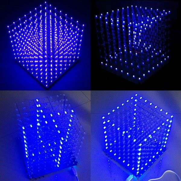 Geekcreit 8x8x8 LED Cube