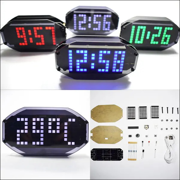 Desktop Alarm Clock Kit