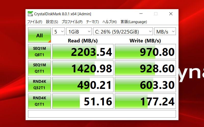 dynabook PZ/HP CDM(SSD)
