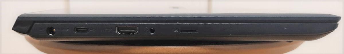 dynabook SZ/HP 左側面