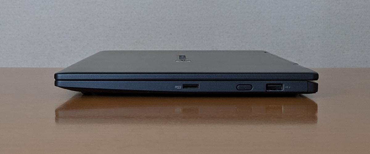 dynabook VZ(VZ/HP)右側面