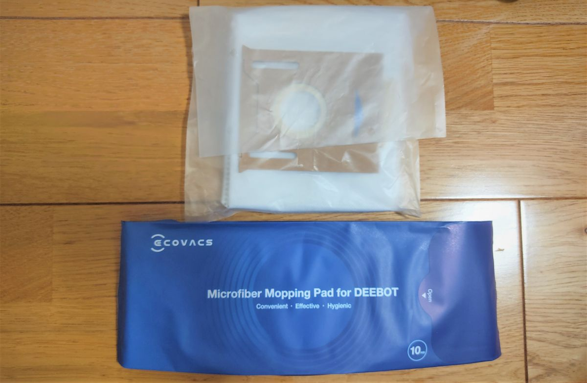 ECOVACS DEEBOT N8+ 付属品