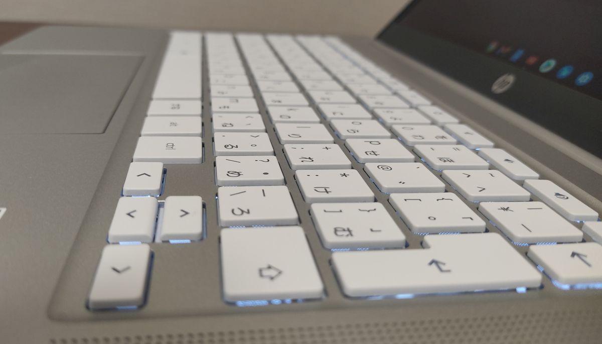 HP Chromebook 14a-na0000 バックライト