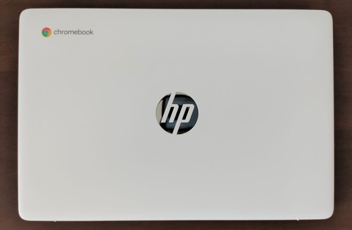 HP Chromebook 14a-na0000 天板