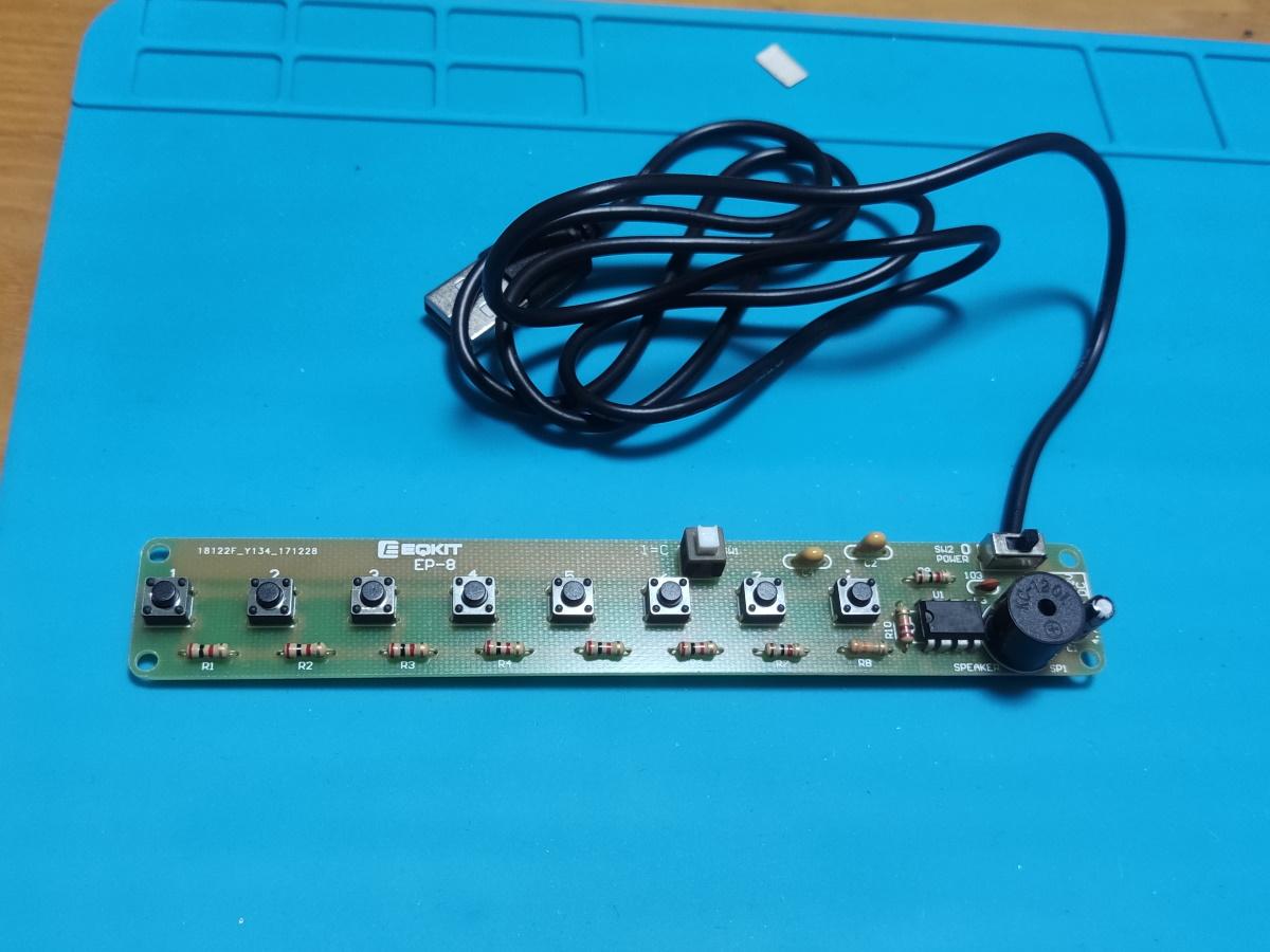electronic keyboard_finish