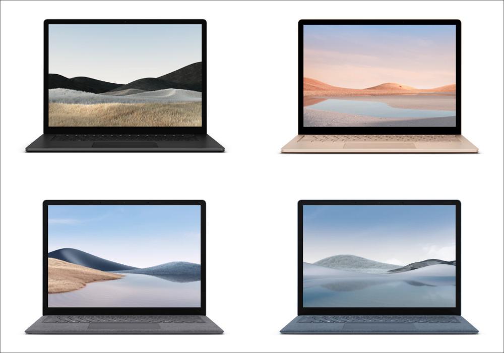 Microsoft Surface Laptop 4 カラーバリエーション